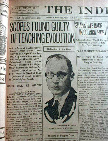 essays on the scopes trial