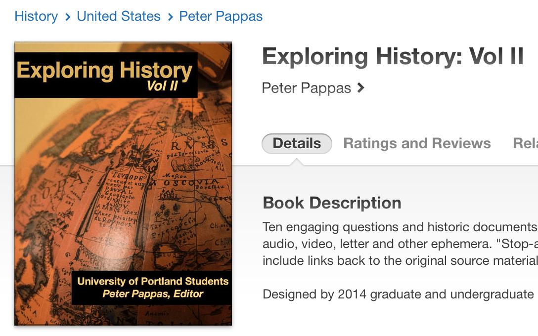 Exploring historyii