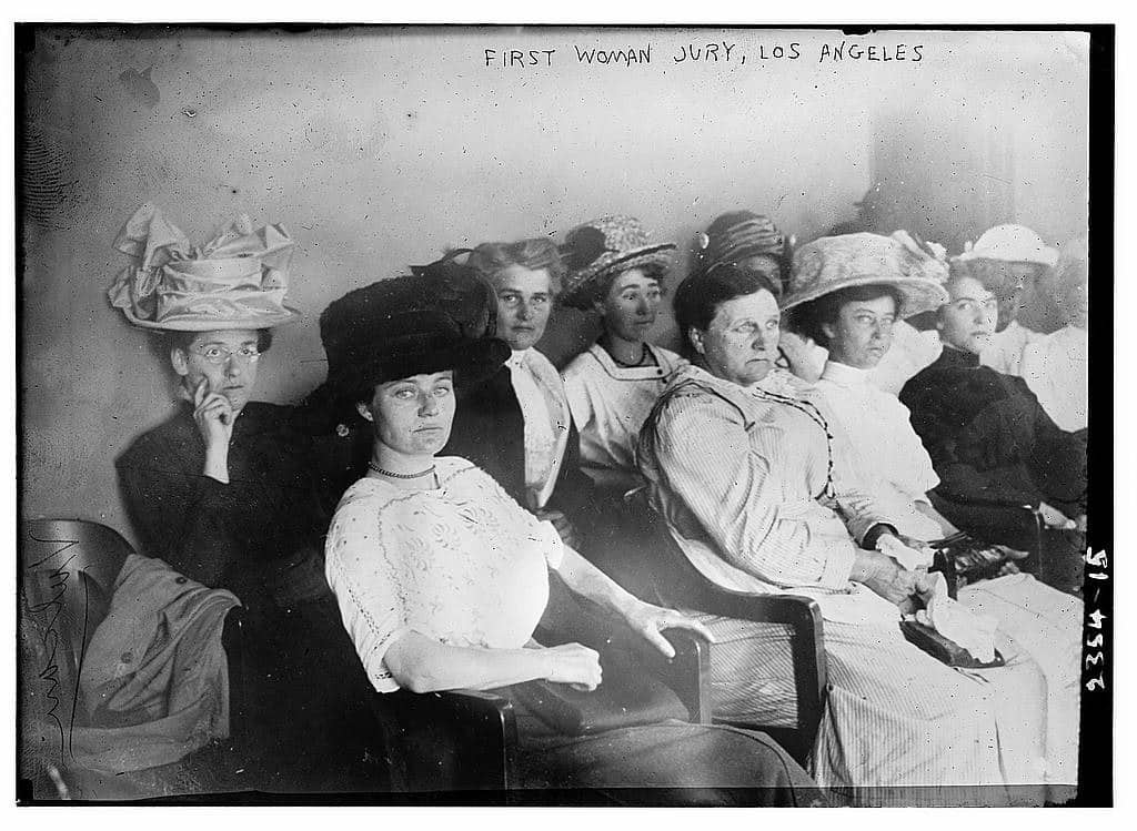 First Women Jury ~ Los Angeles 1911
