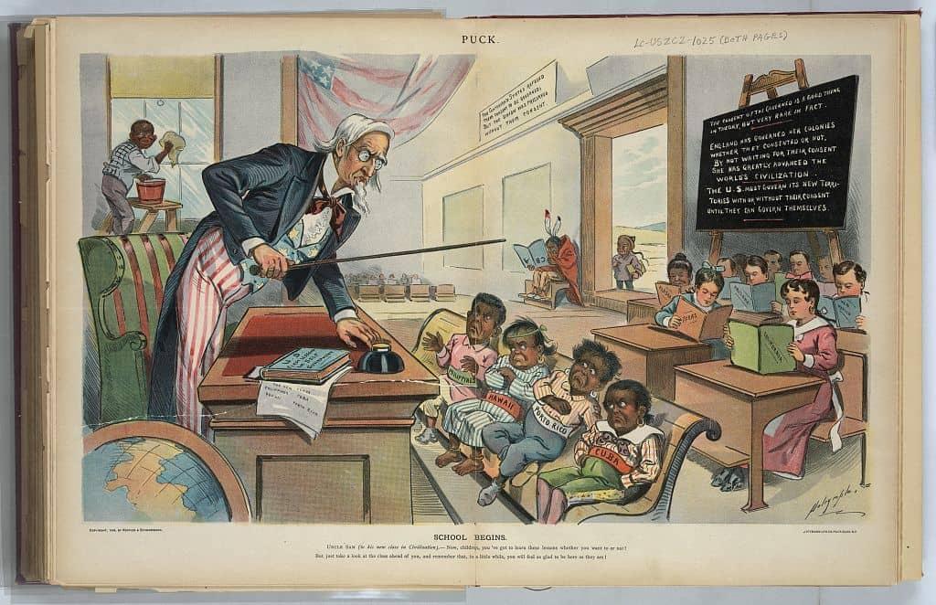 School Begins - 1899