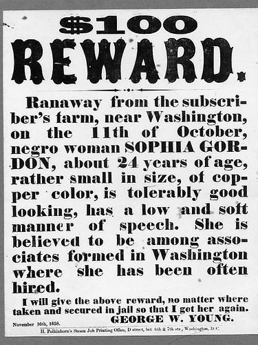 $100 Reward Poster