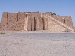 Ancient Ziggurat in Iraq