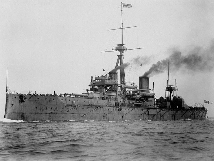 The HMS Dreadnought (1906)