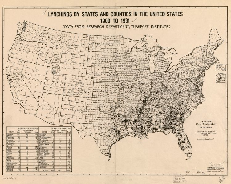 Lynchings 1900-1931