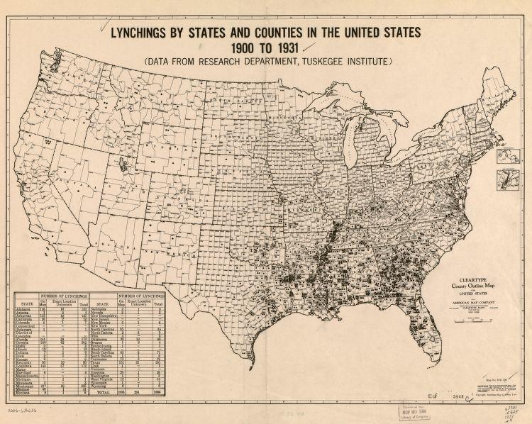 Lynchings 1900-1931