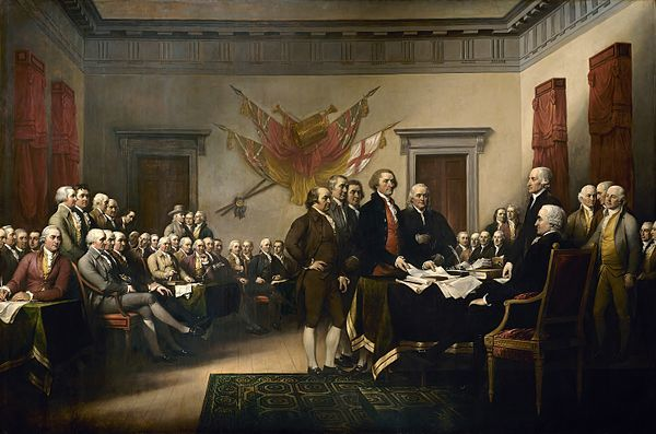 Painting by John Trumbull