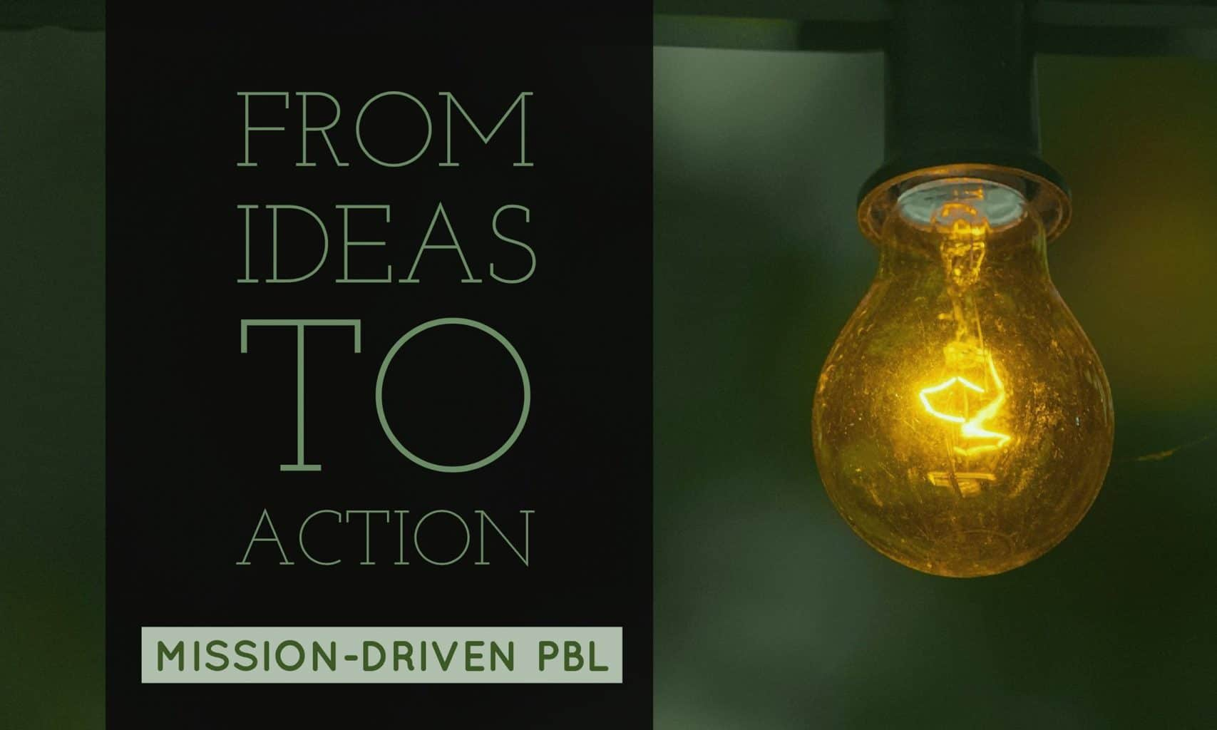 PBL-from ideas to action